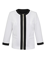 Joanna Hope Contrast Tailored Jacket