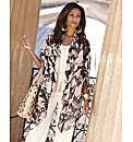 Joanna Hope Print Kimono Style Jacket