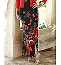 Joanna Hope Split Print Maxi Skirt