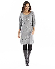 Joanna Hope Embellished Sweater Dress