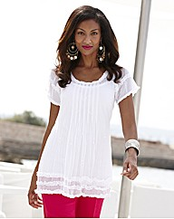 Joanna Hope Short Sleeved Blouse