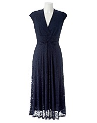 Joanna Hope Twist Front Lace Dress