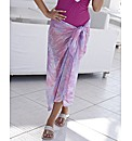 Joanna Hope Print Sarong Cover Up