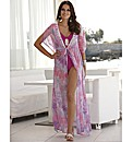 Joanna Hope Print Maxi Kaftan