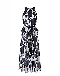 Petite Joanna Hope Print Dress and Scarf