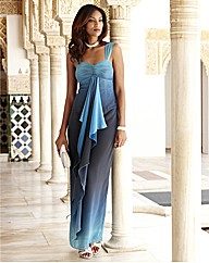 Joanna Hope Ombre Maxi Dress