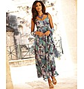 Joanna Hope Print Maxi Dress and Scarf