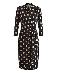 Joanna Hope Blurred Spot Jersey Dress