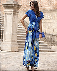 Joanna Hope Jersey Maxi Dress and Bolero