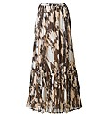 Joanna Hope Crinkle Print Maxi Skirt