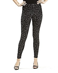 Joanna Hope Animal Jersey Leggings