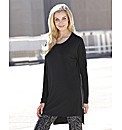 Joanna Hope Zip Hem Jersey Tunic