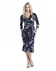 Joanna Hope Ruched Front Jersey Dress