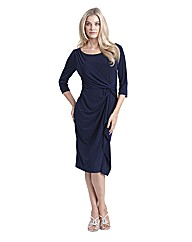 Joanna Hope Twist Front Jersey Dress