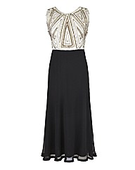 Joanna Hope Embellished Contrast Dress