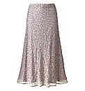 Joanna Hope Bias Cut Beaded Skirt