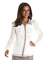 Joanna Hope Beaded Blouse and Cami