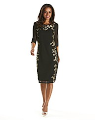 Joanna Hope Embroidered Dress