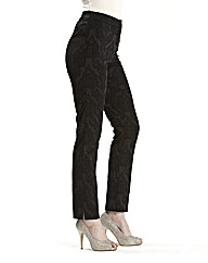 Joanna Hope Stretch Jacquard Trousers