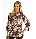 Joanna Hope Print Blouse
