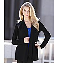 Joanna Hope Jersey Cardigan