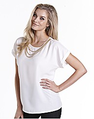 Joanna Hope Chain Trim Top
