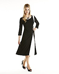 Joanna Hope Contrast Trim Jersey Dress