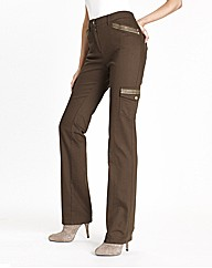 Joanna Hope Embroidered Cargo Trousers