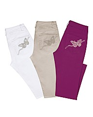 Together Embroidered Trousers