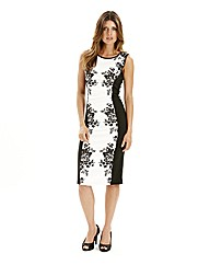 Joanna Hope Contrast Print Dress