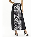 Joanna Hope Print Jersey Maxi Skirt