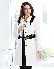 Joanna Hope Braid Trim Coat
