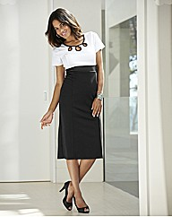 Joanna Hope Contrast Jersey Dress