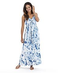 Joanna Hope Tie Dye Maxi Dress