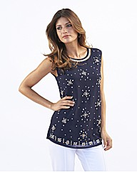 Joanna Hope Embellished Top