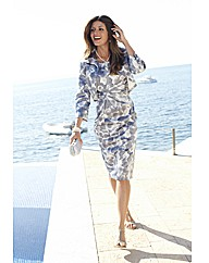 Joanna Hope Print Dress and Jacket