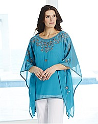 Joanna Hope Embroidered Kaftan