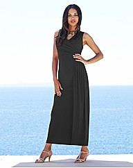Joanna Hope Drape Jersey Maxi Dress