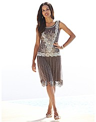 Joanna Hope Sleeveless Sequin Dress