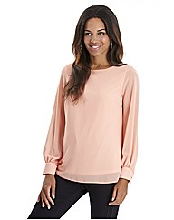 Joanna Hope Stud Trim Blouse