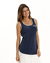 Joanna Hope Pack of Two Contrast Tops