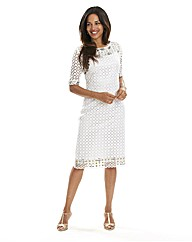 Joanna Hope Broderie Anglais Dress