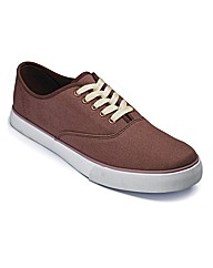 Kayak Lace up Canvas Shoes ExtraWide Fit