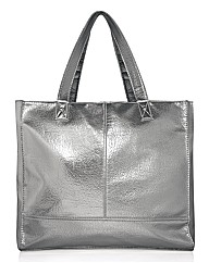 Together Metallic Shopper