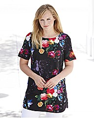 Joanna Hope Floral Print Tunic
