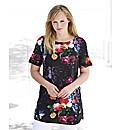 Joanna Hope Floral Print Tunic
