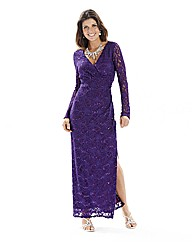 Joanna Hope Sequin Lace Maxi Dress