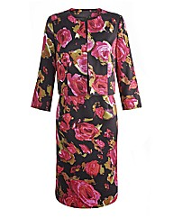 Joanna Hope Print Dress and Jacket