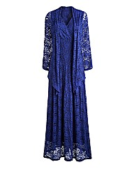 Joanna Hope Lace Maxi Dress and Shrug