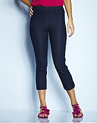 Pull On Crop Jeggings